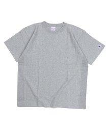Champion/チャンピオン Champion Tシャツ 半袖 リバースウィーブ メンズ レディース REVERSE WEAVE POCKET T-SHIRT ブラック ホワイ/503015647