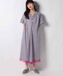 SHIPS WOMEN/TARO HORIUCHI:PINTUCK SLEEVE D/503150980