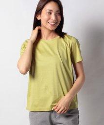 Leilian PLUS HOUSE/ビジューネックTシャツ/503152896