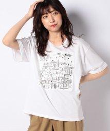 FRAPBOIS/メッシュレイヤードTシャツ/503200700