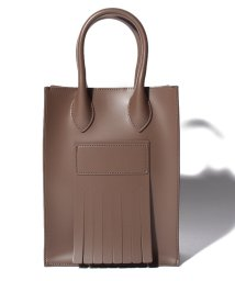actuelselect/【SOLPRESA】SQUARE FRINGE MINI TOTE BAG/503201523