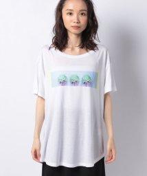 BENETTON (women)/プリント半袖Tシャツ・カットソー/503201814