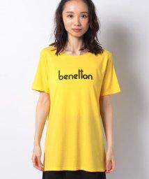 BENETTON (women)/ブランドボックスロゴプリント半袖Tシャツ・カットソー/503201815