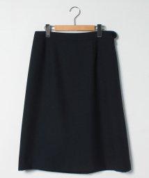 pierre cardin ligne/【大きいサイズ]【セットアップ対応】オックス ミドル丈スカート/503202042