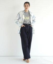 FIKA./ONO+BLU Tuck Wide Denim/503206924