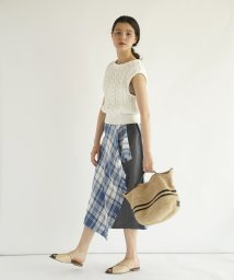 FIKA./O'NEIL Check Wrap Skirt/503206932