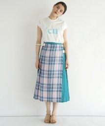 FIKA./LIBERTY Linen Wrap Skirt/503206933