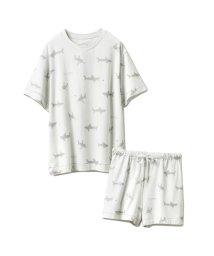 gelato pique/【セットアップ】シャークモチーフTシャツ&ショートパンツSET/503220729