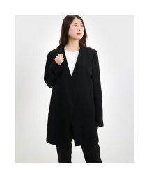 Rename/リネーム Rename ノーカラーデザインロングジャケット (ブラック)/503237191