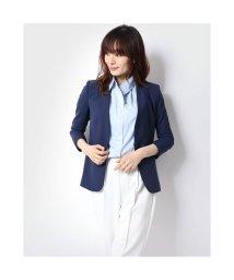 Rename/リネーム Rename ノーカラー総裏ウールジャケット (ブルー)/503237211