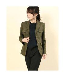 Rename/リネーム Rename ポケット付き デザインジャケット (カーキ)/503237442