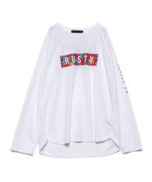 RUSTY/ラスティ RUSTY ナガソデ UVTシャツ (WPK)【返品不可商品】/503239060