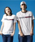TOMMY HILFIGER/トミーヒルフィガー TOMMY HILFIGER   トミーヒルフィガー ロゴ Tシャツ / TINO TEE (ホワイト)/503241431