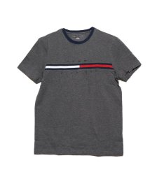 TOMMY HILFIGER/トミーヒルフィガー TOMMY HILFIGER トミーヒルフィガー ロゴ Tシャツ / TINO TEE (グレー)/503241459