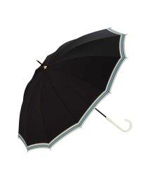 w.p.c/ダブルピーシー Wpc. 雨傘 12本骨ボールドライン (ブラック)/503243684