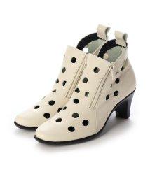 yuriko matsumoto/ユリコ マツモト yuriko matsumoto ブーツ サマーブーツ パンチングブーツ 本革 日本製 (IV)/503244524
