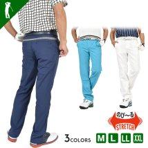 SantaReet/【COMON GOLF】千鳥格子使いドライ素材ストレッチ夏用ゴルフパンツ(CG-20013)/503244915
