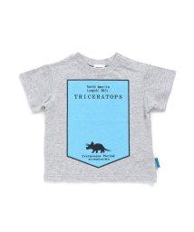 BREEZE/シルエットプリント恐竜Tシャツ/503069145