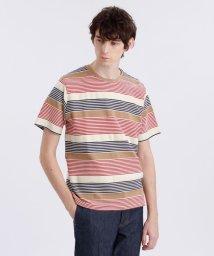 MACKINTOSH PHILOSOPHY/リンクスボーダークルーネックTシャツ/503074333