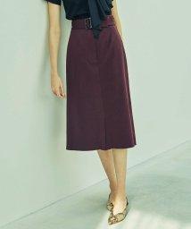 CAST:/【予約販売】ベルテッドタイトスカート/503081565
