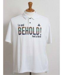 GRAND-BACK/【大きいサイズ】ルコックスポルティフ ゴルフ/le coq sportif GOLF エスニックグラフィック半袖ポロシャツ/503138582