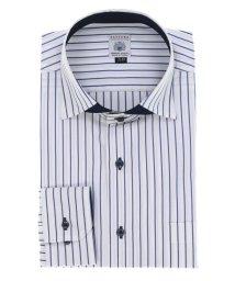 GRAND-BACK/【大きいサイズ】ファットゥーラ/FATTURA 綿100%日本製ワイドカラー長袖ビジネスドレスシャツ/ワイシャツ/503138606