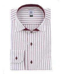 GRAND-BACK/【大きいサイズ】ファットゥーラ/FATTURA 綿100%日本製ワイドカラー長袖ビジネスドレスシャツ/ワイシャツ/503138607