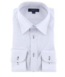 TAKA-Q/形態安定抗菌防臭スリムフィット レギュラーカラー長袖ビジネスドレスシャツ/ワイシャツ/503138612