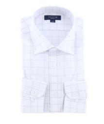 TAKA-Q/形態安定抗菌防臭スリムフィット ワイドカラー長袖ビジネスドレスシャツ/ワイシャツ/503138616
