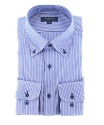 TAKA-Q/形態安定抗菌防臭スリムフィット ボタンダウン長袖ビジネスドレスシャツ/ワイシャツ/503138621