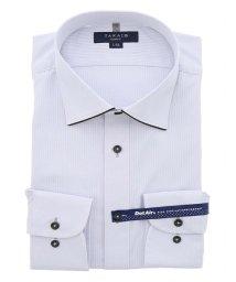 TAKA-Q/形態安定 DotAir スリムフィット ワイドカラー長袖ビジネスドレスシャツ/ワイシャツ/503138640