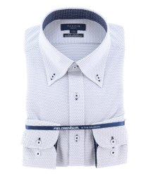 TAKA-Q/フィールドセンサー/FIELDSENSOR スリムフィットボタンダウン長袖ニットビジネスドレスシャツ/ワイシャツ/503138645
