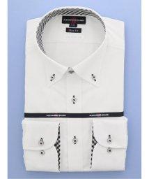 TAKA-Q/接触冷感 形態安定スリムフィット ボタンダウン長袖ビジネスドレスシャツ/ワイシャツ/503138698