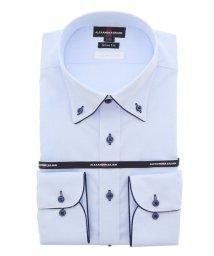 TAKA-Q/接触冷感 形態安定スリムフィット ボタンダウン長袖ビジネスドレスシャツ/ワイシャツ/503138699