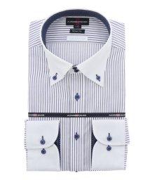 TAKA-Q/接触冷感 形態安定スリムフィット ドゥエクレリック長袖ビジネスドレスシャツ/ワイシャツ/503138700
