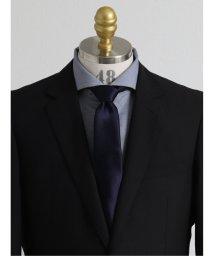 GRAND-BACK/【大きいサイズ】アレキサンダージュリアン/ALEXANDER JULIAN 日本製ふじやま織り シルク繻子無地 レギュラーネクタイ8.5cm幅/503138709
