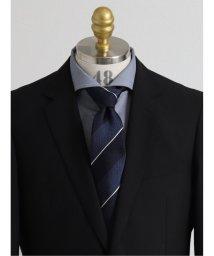 GRAND-BACK/【大きいサイズ】アレキサンダージュリアン/ALEXANDER JULIAN 日本製ふじやま織り シルクストライプ柄レギュラーネクタイ8.5cm幅/503138712