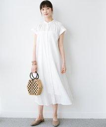 haco!/バレずにとことん楽できる 羽織りとしても使える軽やかシャツワンピース/503180674