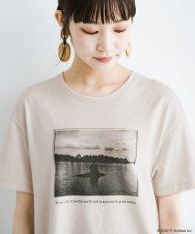 haco!/フォトマガジン「LIFE」コラボ 大人のためのしなやかフォトプリントTシャツ/503195171