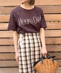 FREDY REPIT/Heure D'ete(ルールデテ)ロゴTシャツ/503202586