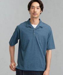 green label relaxing/CM ドライ ウール ミックス オープンカラー ポロシャツ /503203088