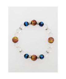 CAYHANE/【チャイハネ】蓄光ほたる玉4粒数珠ブレスレット オレンジ/503214537