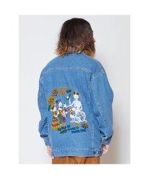 CAYHANE/【チャイハネ】カラベラ刺繍MEN'Sデニムジャケット ライトブルー/503214717