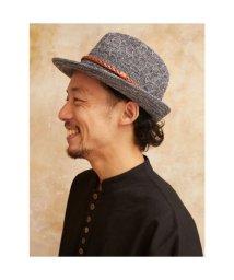 CAYHANE/【チャイハネ】変わり編みハット グレー/503215040