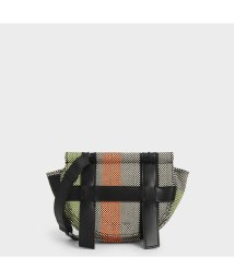 CHARLES & KEITH/ストラッピーキャンバス クロスボディバッグ / Strappy Canvas Crossbody Bag (Multi)/503215455