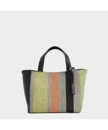 CHARLES & KEITH/ケージド キャンバストートバッグ / Caged Canvas Tote Bag (Multi)/503215469