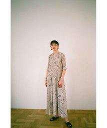 CLANE/LINE FLOWER PLEAT ワンピース/503216472