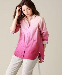 EVEX by KRIZIA/【ウォッシャブル】アフリカグラデーションシャツ/503216507