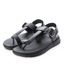 FITFLOP/フィットフロップ fitflop ARLO LEATHER BACK-STRAP SANDALS (Black)/503219984