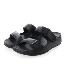 FITFLOP/フィットフロップ fitflop GOGH MOC SLIDE IN LEATHER (Black)/503219985